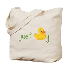Just Ducky Tote Bag