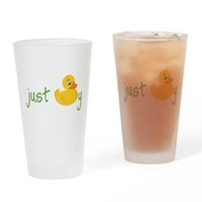 Just Ducky Drinking Glass
