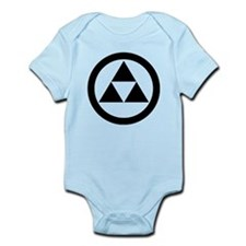 Three scales in circle Onesie
