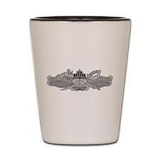 SWCC Badge Shot Glass