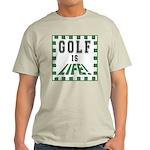 Top 10 Golf #9 Ash Grey T-Shirt
