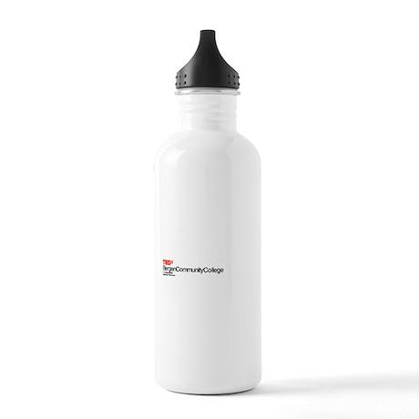 TEDxBergenCommunityCollege Logo 2 Stainless Water
