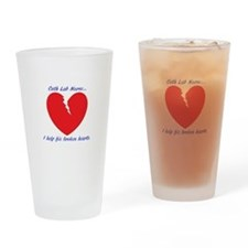 Cath Lab Nurse Drinking Glass