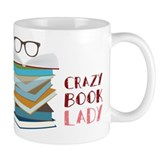 Crazy Book Lady Mug
