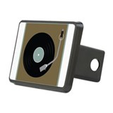 Record Player Rectangular Hitch Cover