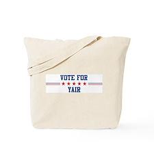 Vote for YAIR Tote Bag