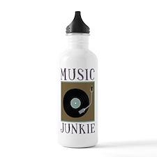 Music Junkie Water Bottle