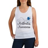 Arthritis Awareness butterfly Women's Tank Top