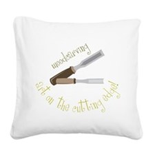 Woodcarving Square Canvas Pillow