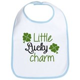 Little lucky charm Bib