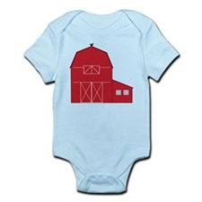 Red Barn Infant Bodysuit