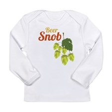 Beer Snob Long Sleeve Infant T-Shirt
