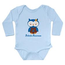 Cute Arthritis Owl Long Sleeve Infant Bodysuit