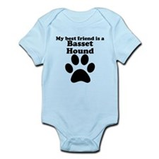 Basset Hound Best Friend Infant Bodysuit