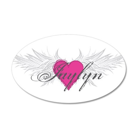 My Sweet Angel Jaylyn 35x21 Oval Wall Decal