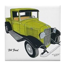 '34 Ford Pickup Tile Coaster