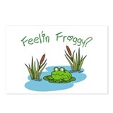 Cute Froggy Postcards (Package of 8)