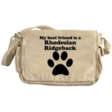 Rhodesian Ridgeback Best Friend Messenger Bag