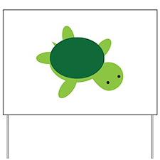 Turtle Yard Sign
