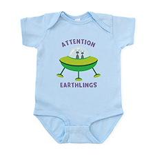 Attention Earthlings Onesie