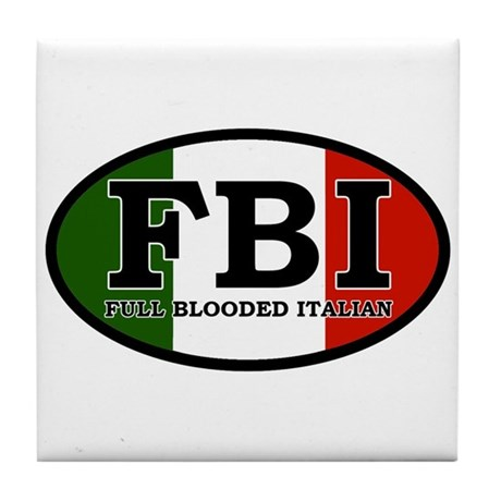 Full Blooded Italian Tile Coaster