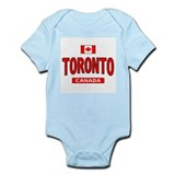 Toronto Canada Infant Bodysuit