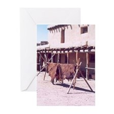 Bents Old Fort Santa Fe Trail Greeting Cards (Pack