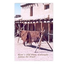Bents Old Fort Santa Fe Trail Postcards (Package o