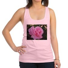 Light Pink Rose Racerback Tank Top