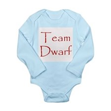 Team Dwarf Long Sleeve Infant Bodysuit