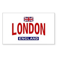 London England Rectangle Decal