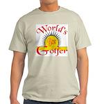 Top 10 Golf #2 Ash Grey T-Shirt