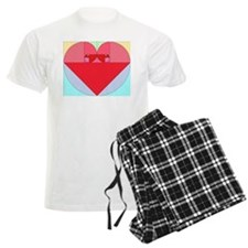 Golden Ratio heart pajamas