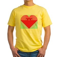 Golden Ratio heart T