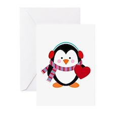 Cute Cartoon Penguin Greeting Cards (Pk of 10)