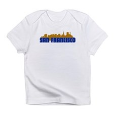 San Francisco Skyline Infant T-Shirt
