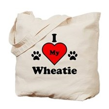I Heart My Wheatie Tote Bag