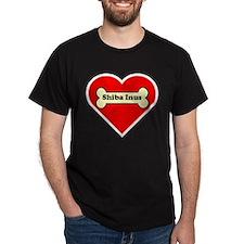 Shiba Inus Heart T-Shirt