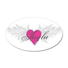 My Sweet Angel Jayla 35x21 Oval Wall Decal