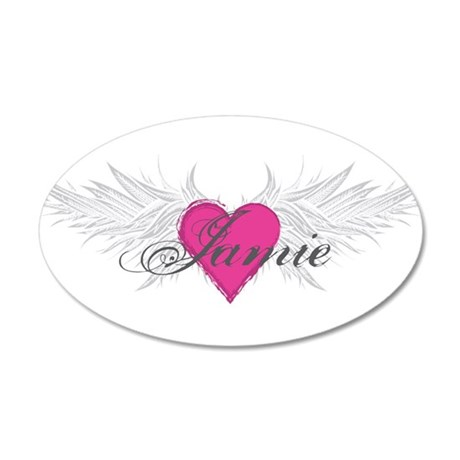 My Sweet Angel Jamie 35x21 Oval Wall Decal
