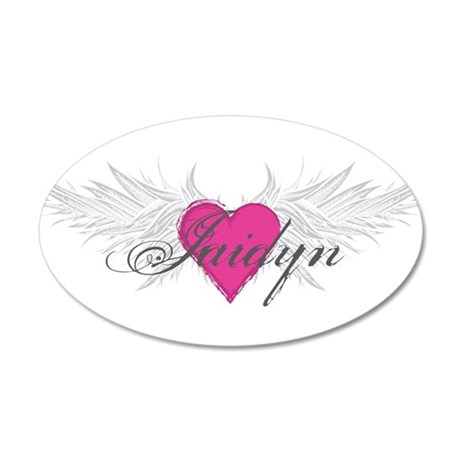 My Sweet Angel Jaidyn 35x21 Oval Wall Decal