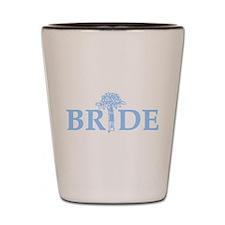 Bouquet Bride Shot Glass