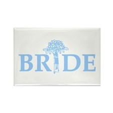 Bouquet Bride Rectangle Magnet