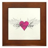 My Sweet Angel Haylee Framed Tile