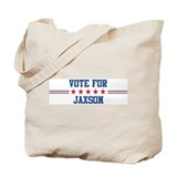 Vote for JAXSON Tote Bag