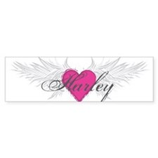 My Sweet Angel Harley Bumper Sticker