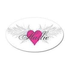 My Sweet Angel Hallie 20x12 Oval Wall Decal
