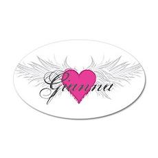 My Sweet Angel Gianna 20x12 Oval Wall Decal
