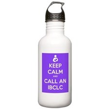 Keep Calm and Call an IBCLC Sports Water Bottle