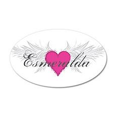 My Sweet Angel Esmeralda 20x12 Oval Wall Decal